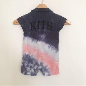 KITH Baby Onesie Tie-Dye w Snaps 12-18 months